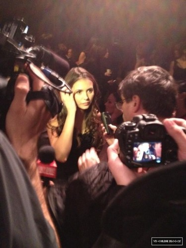 Nina Dobrev - Fashion Week