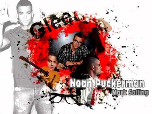 Noah Puckerman - glee Wallpaper