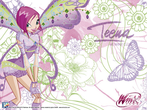 Official wallpaper Tecna - the-winx-club Wallpaper