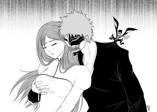 animê bleach wallpaper titled Oirhime/Hollow Ichigo/Tsubaki