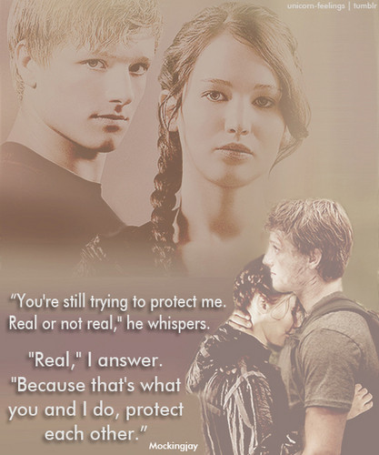 P&K - peeta-mellark Fan Art