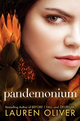 おススメの本 壁紙 probably containing a portrait titled Pandemonium Book Cover
