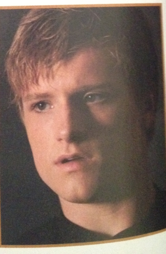 The Hunger Games wallpaper probably containing a television receiver entitled Peeta