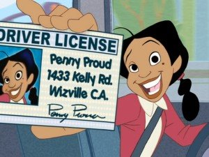 The Proud Family wallpaper with anime called Penny Proud