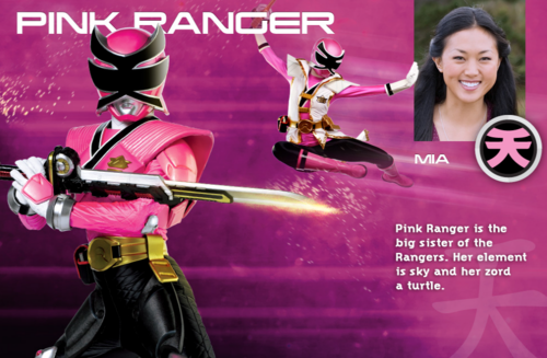 rose Super Samurai Ranger