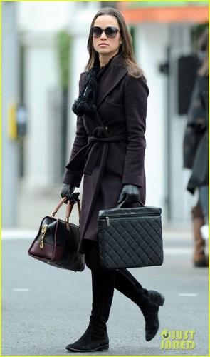 Pippa Middleton: Off to Work