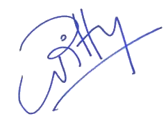 Pitty Autograph