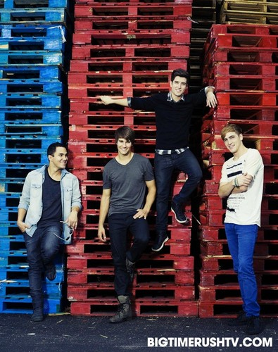 Promoshoot for Big Time Rush <3