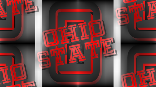 RED & GRAY O, RED & GRAY OHIO STATE