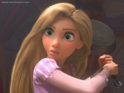 Rapunzel 壁纸