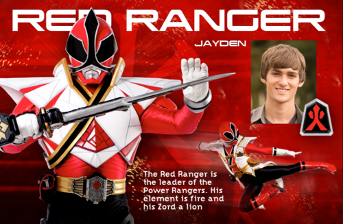 Red Super Samurai Ranger