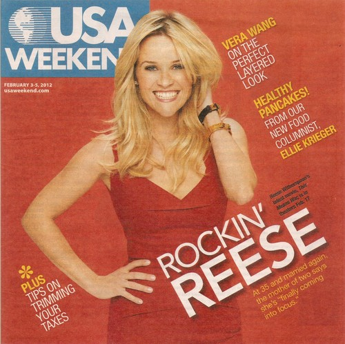 Reese Witherspoon - USA Weekend Magazine