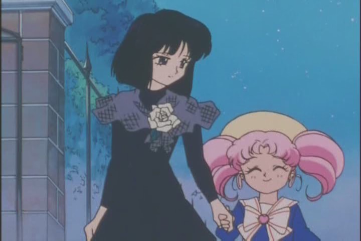 Rini and Hotaru