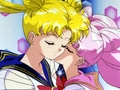 Rini kiss Serena - sailor-mini-moon-rini photo