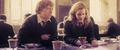 harry-potter - Ron and Hermione screencap