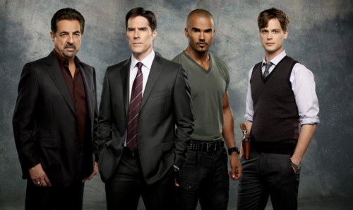 Criminal Minds wallpaper containing a business suit, a suit, and a two piece called Rossi/Hotch/Morgan/Reid