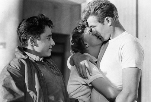 Sal Mineo, Natalie Wood and James Dean