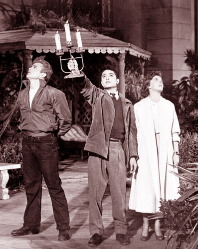 Sal Mineo, Natalie Wood and James Dean