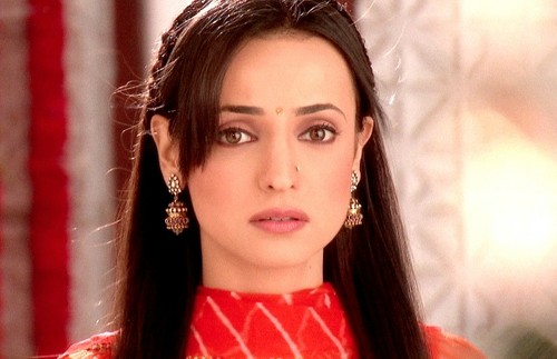 iss pyaar no kya naam doon fond d'écran with a portrait called Sanaya Irani