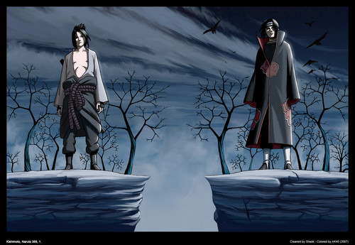Sasuke/Itachi Uchiha - naruto Photo
