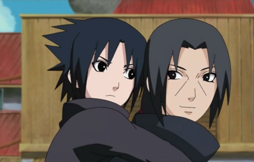 Sasuke and Itachi Young