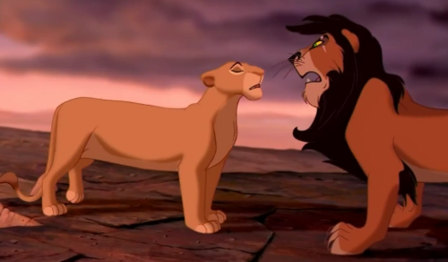 Scar and Sarabi - the-lion-king Photo