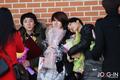 Se Hun at The School Of Performing Arts Seoul graduation ceremony
