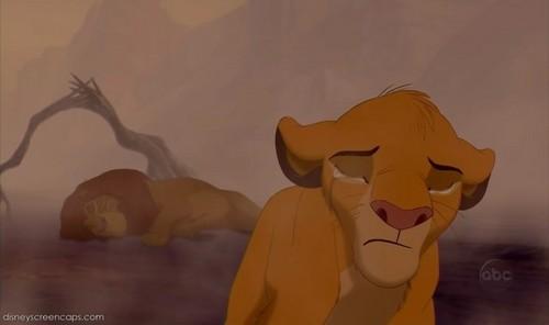 Simba cry