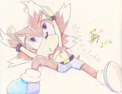 Simy Hedgehog ((Not Slimy...))
