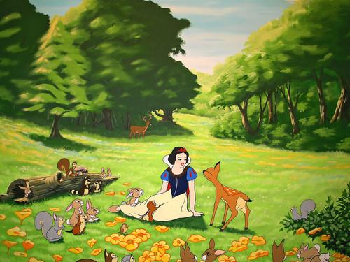 Snow White achtergrond