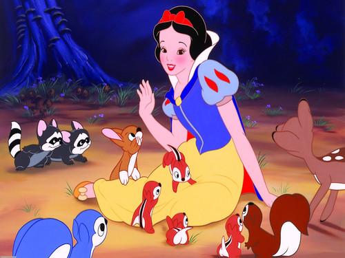 Snow White দেওয়ালপত্র