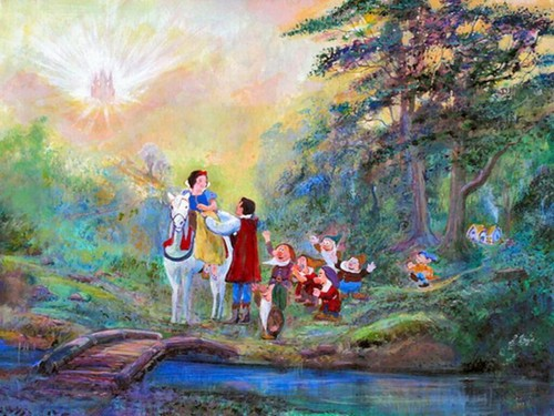 Disney Princess wallpaper probably containing an alpinist entitled Snow White Wallpaper