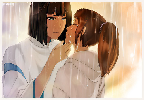 Spirited Away: Tears - spirited-away Fan Art