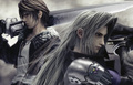 Squall and Sephirot - squall photo