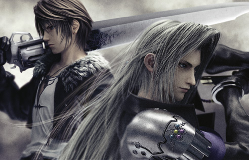 Squall images Squall and Sephirot wallpaper and background photos