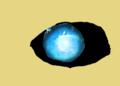 Sussie's eyes in Demon Form