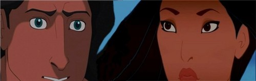 The Eyes of Tarzan and Pocahontas