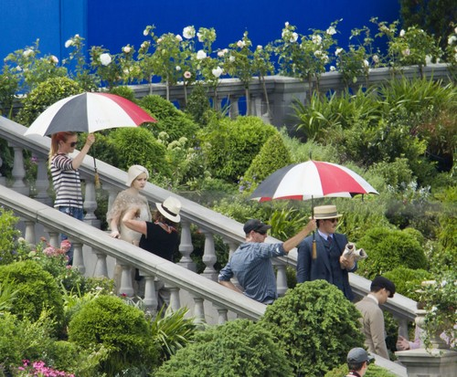 The Great Gatsby On Set - February 9th, 2012