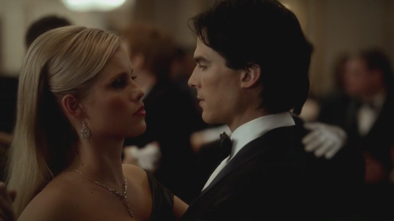 Damon   Rebekah The Vampire Diaries 3x14