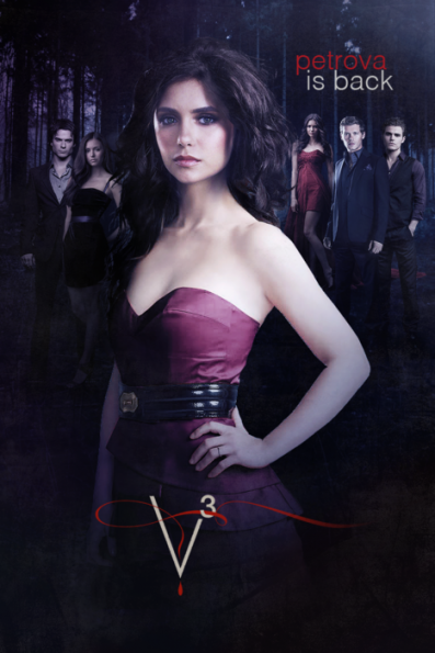 The Vampire Diaries - Episode 3.14 - Dangerous Liaisons - Promotional Poster & BTS foto-foto