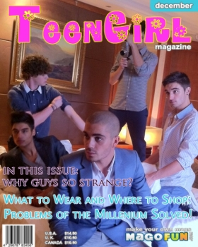 The Wanted (Homemade Magazine Cover )