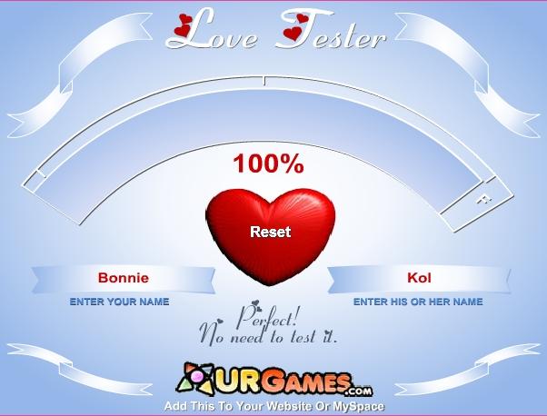 true love test name