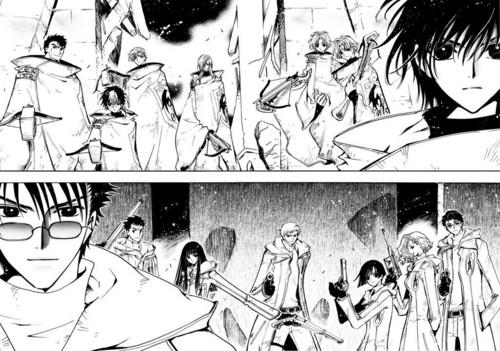 Kamui Shirou and Fuuma Monou (Tokyo Revelations)