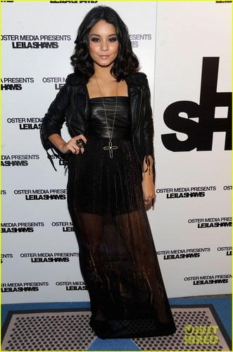 Vanessa Hudgens: Leila Shams Fashion Week Party!