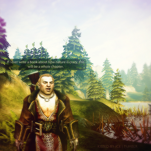 Varric - dragon-age-origins Fan Art