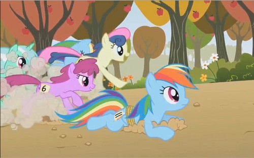 My Little Pony Friendship is Magic images Weird Ponies 1: Double Rainbow HD wallpaper and background photos