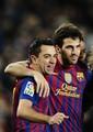 Xavi Hernandez :FC Barcelona (2) v Valencia CF (0) - Copa del Rey