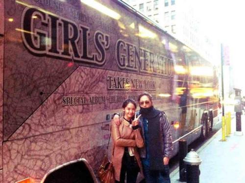 Yoona & Shim Jaewon @ NYC