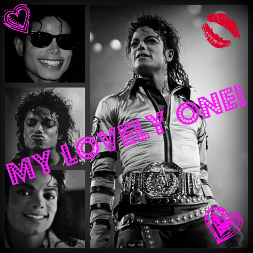 당신 are my lovely one Michael!