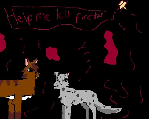 Warriors (Novel Series) Hintergrund probably with Anime called ashfur and hawkfrost